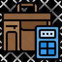 Portfolio Calculator Briefcase Icon