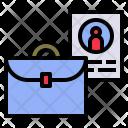 Portfolio Profile Briefcase Icon
