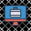 Portfolio Business Online Icon