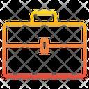 Portfolio Suitcase Document Bag Icon