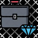 Portfolio Brilliant Diamond Icon