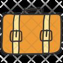 Portfolio Bag Briefcase Office Bag Icon