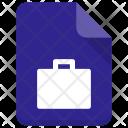 Portfolio File Sheet Icon