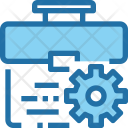 Business Management Optimization Icon