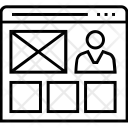 Portfolio Webpage Web Icon
