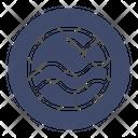 Marine Porthole Water Icon