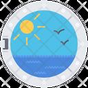 Ship Bird Water Icon