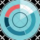 Portions Radar Statistic Icon