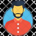 Portrait Male Man Icon