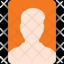 Portrait Face Id Icon