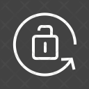 Portrait Orientation Unlock Icon