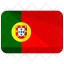 Portugal Flag Country Icon