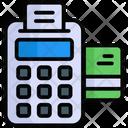 Pos Cash Till Invoice Machine Icon