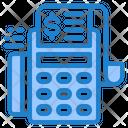 Pos Machine Receipt Bill Icon