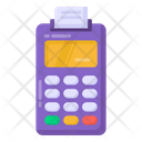 Card Payment Pos Machine Cash Till Icon