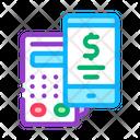 Pos Terminal Smartphone Icon