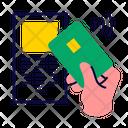 Pos Terminal Pay Contactless Icon