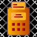 Pos Terminal Cash Till Invoice Machine Icon