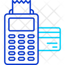 Pos Terminal Invoice Machine Cash Till Icon