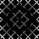 Position Badge Emblem Insignia Icon