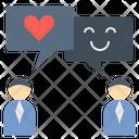 Positive Love Talk Icon