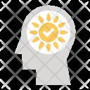 Positive Vibes Sun Icon