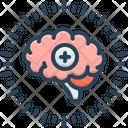 Positive Think Brain Icon