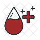 Positive Blood Icon