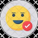 Positive Emoticon Icon