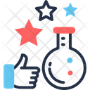 Positive Experience Flask Lab Icon