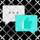 Positive feedback Icon