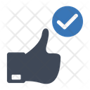 Positive Feedback Review Icon