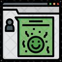 Positive Feedback Happy Emoji Icon