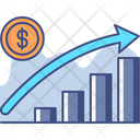 Positive Implications Growth Plan Chart Icon