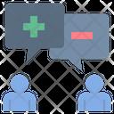 Positive negative Feedback Icon