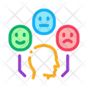 Positive Neutral Negative Icon