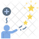 Positive Rate Magic Icon