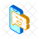 Positive Review Isometric Icon