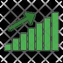 Bar Bullish Chart Icon