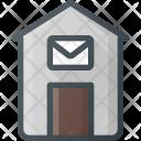 Post Office Architecture Icon