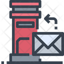 Post Box Letter Box Post Icon
