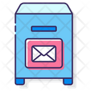 Mpostal Service Post Box Letter Box Icon