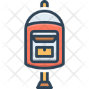 Mailbox Letter Box Send Icon