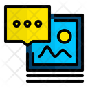 Post Comment Post Picture Icon