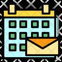 Calendar Mail Envelope Icon