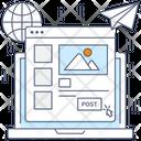 Post Image Sending Media Sending Photos Icon
