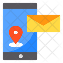 Smartphone Pin Location Icon