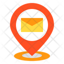 Mail Pin Location Icon