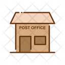 Post Office Post Courier Office Icon