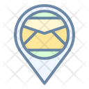 Post Office Mail Place Icon